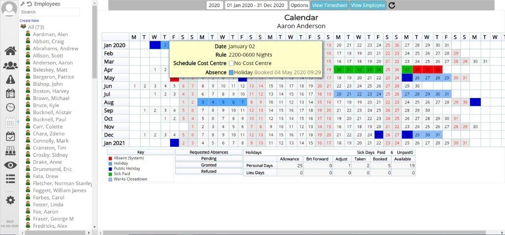 absence management software